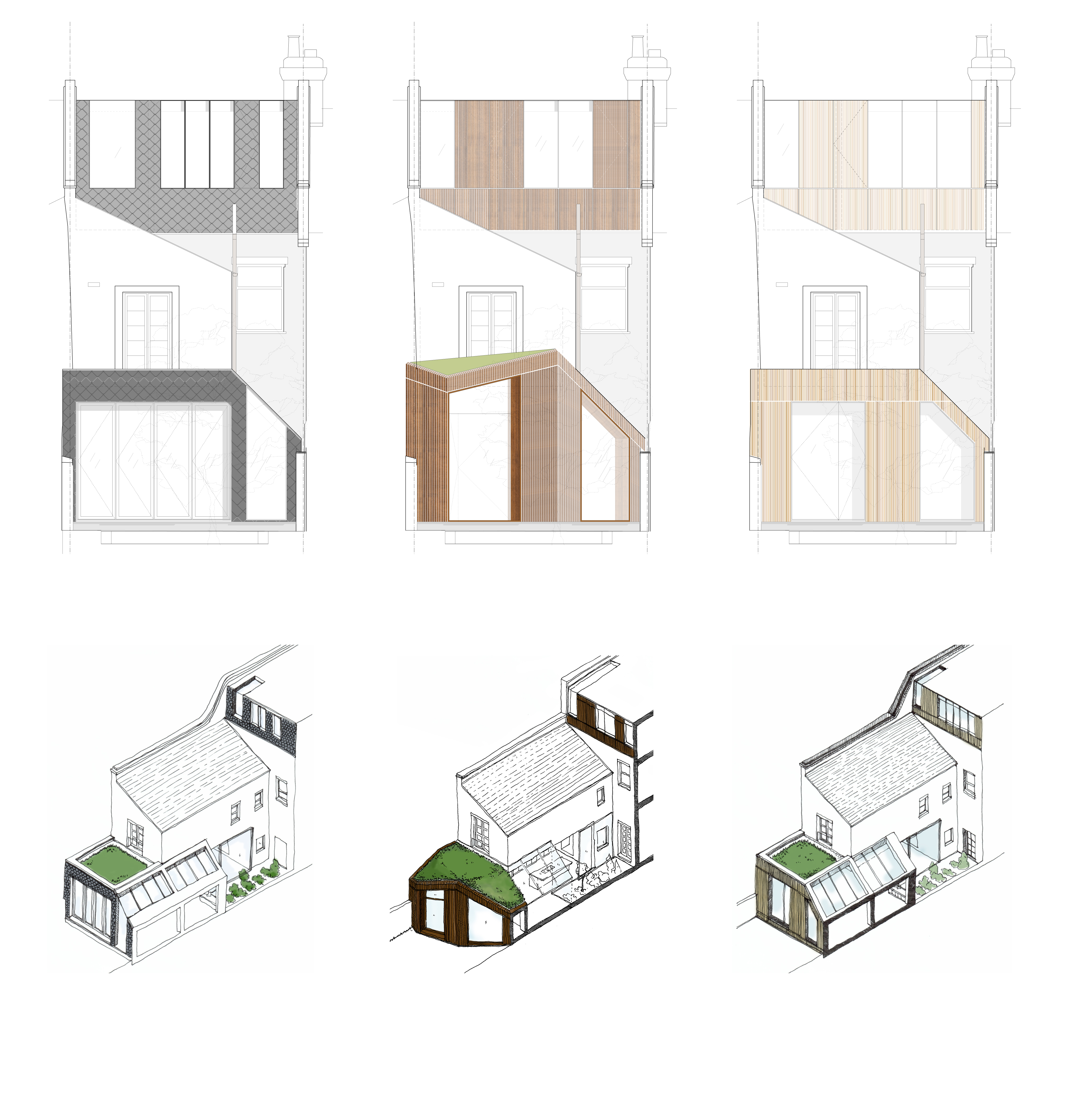 Projects Material Exploration for a Victorian Terrace