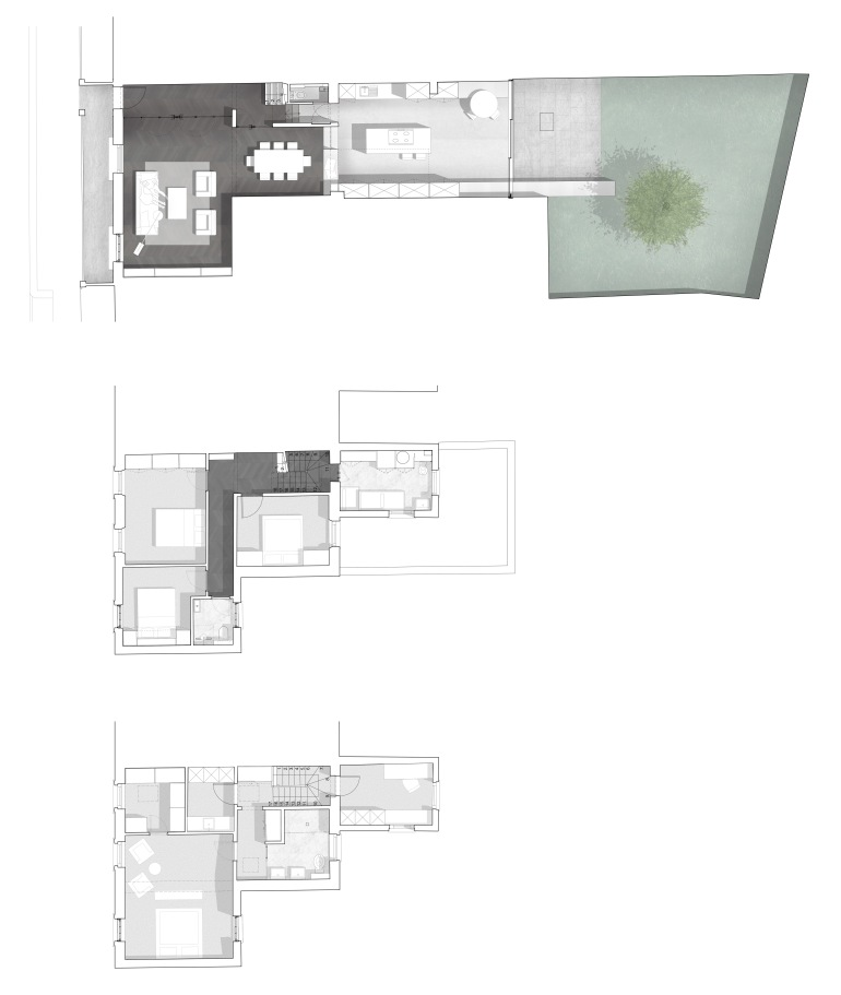247-100 Proposed Ground Floor Plan